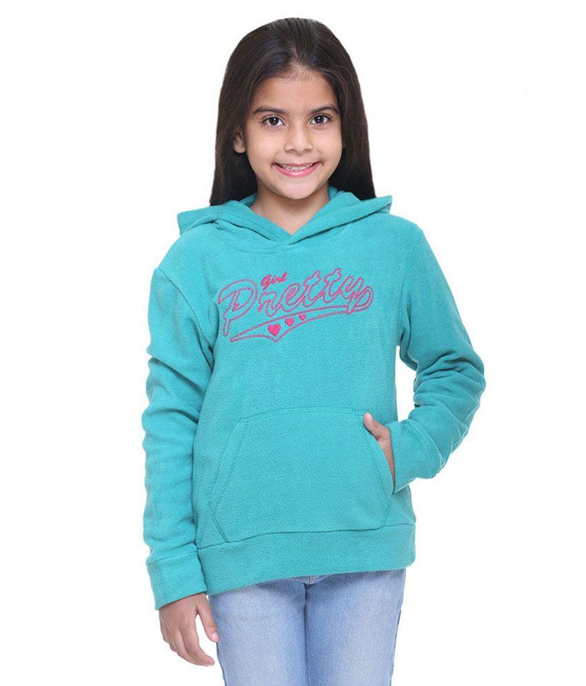 Kids-17 Turquoise Fleece Sweatshirt