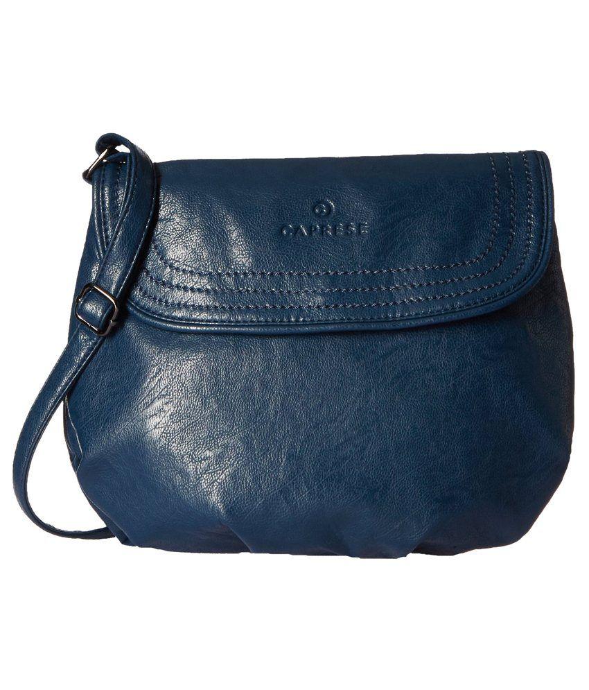 Caprese Demy Blue Sling Bag