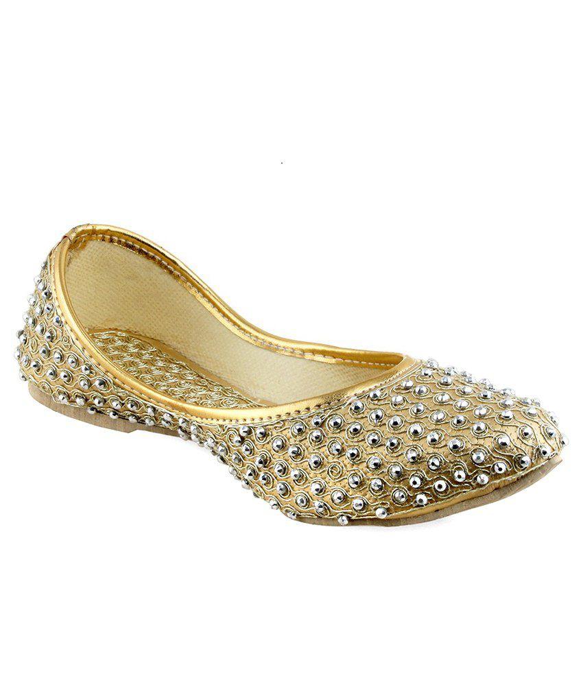 Shoe Lab Gold Ethnic
