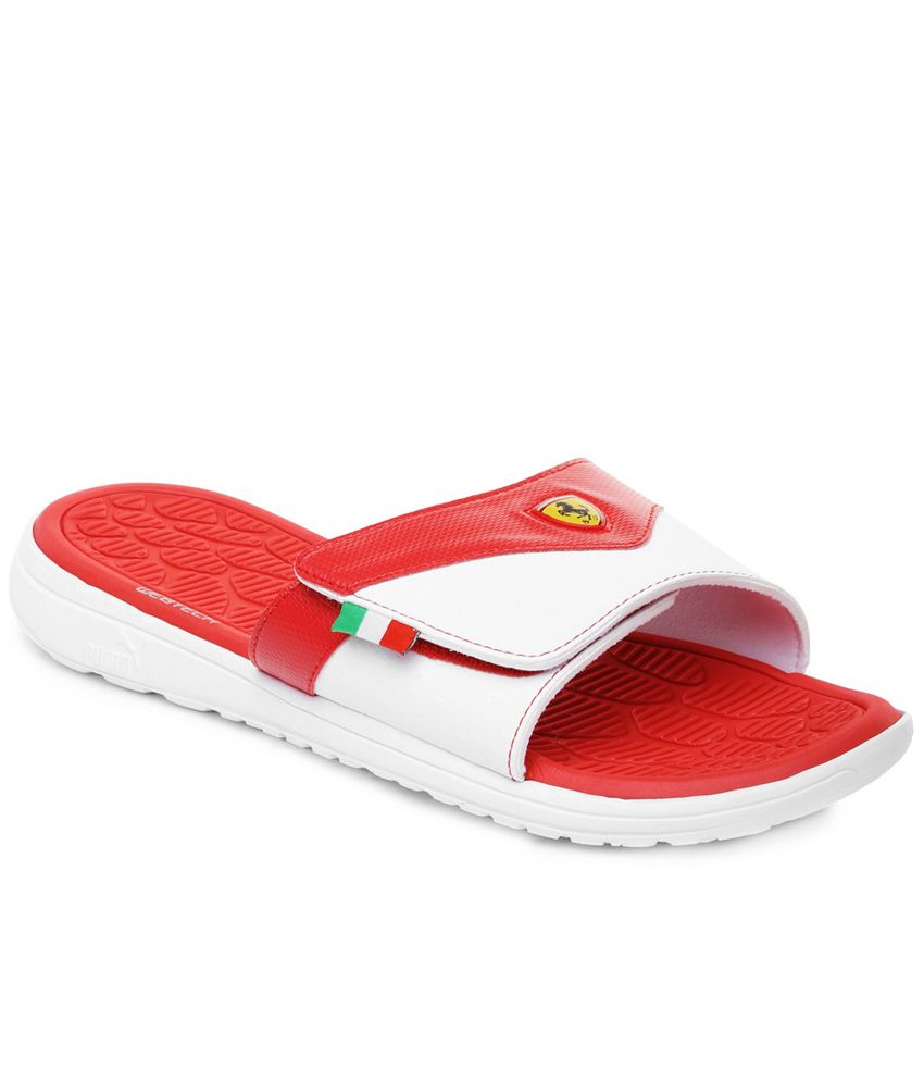 e1274641033e Puma Red Flip Flops Price in India- Buy Puma Red Flip Flops Online at  Snapdeal