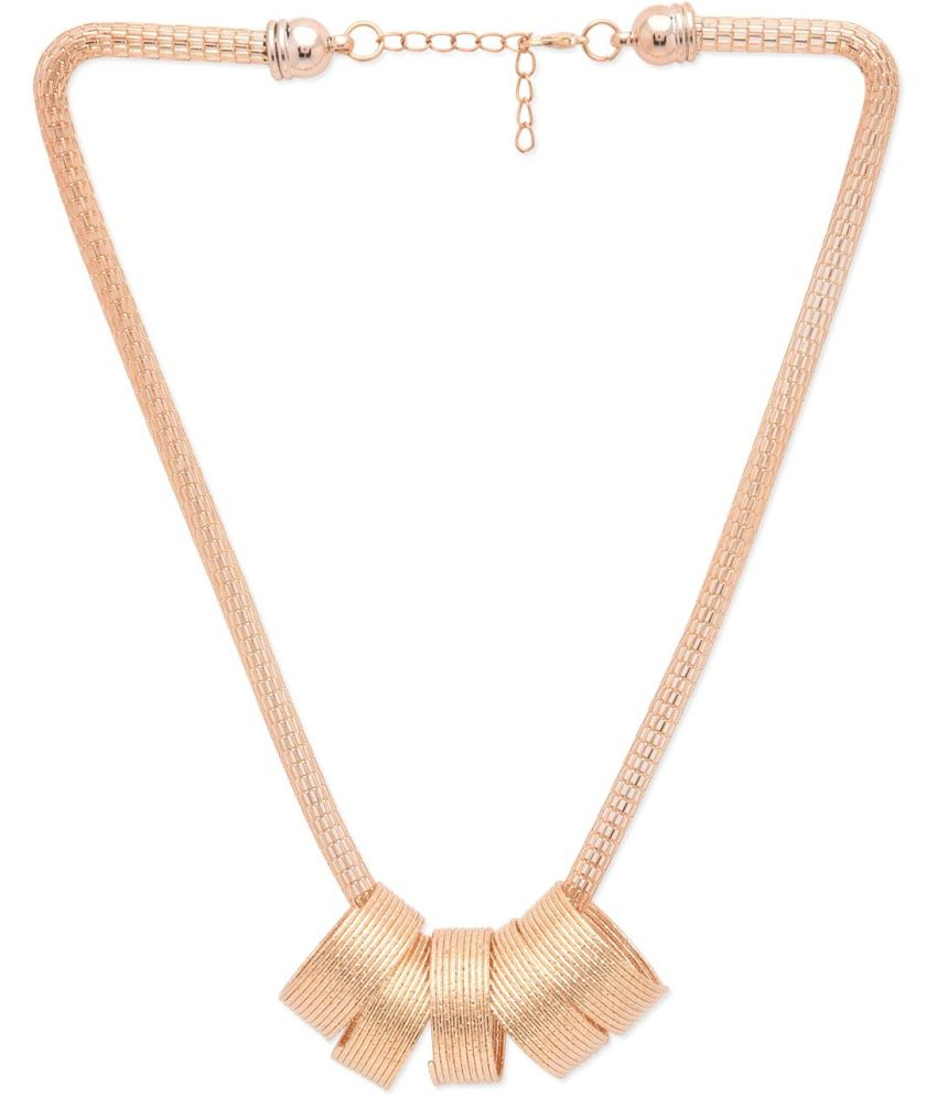 BGS Golden Alloy Necklace