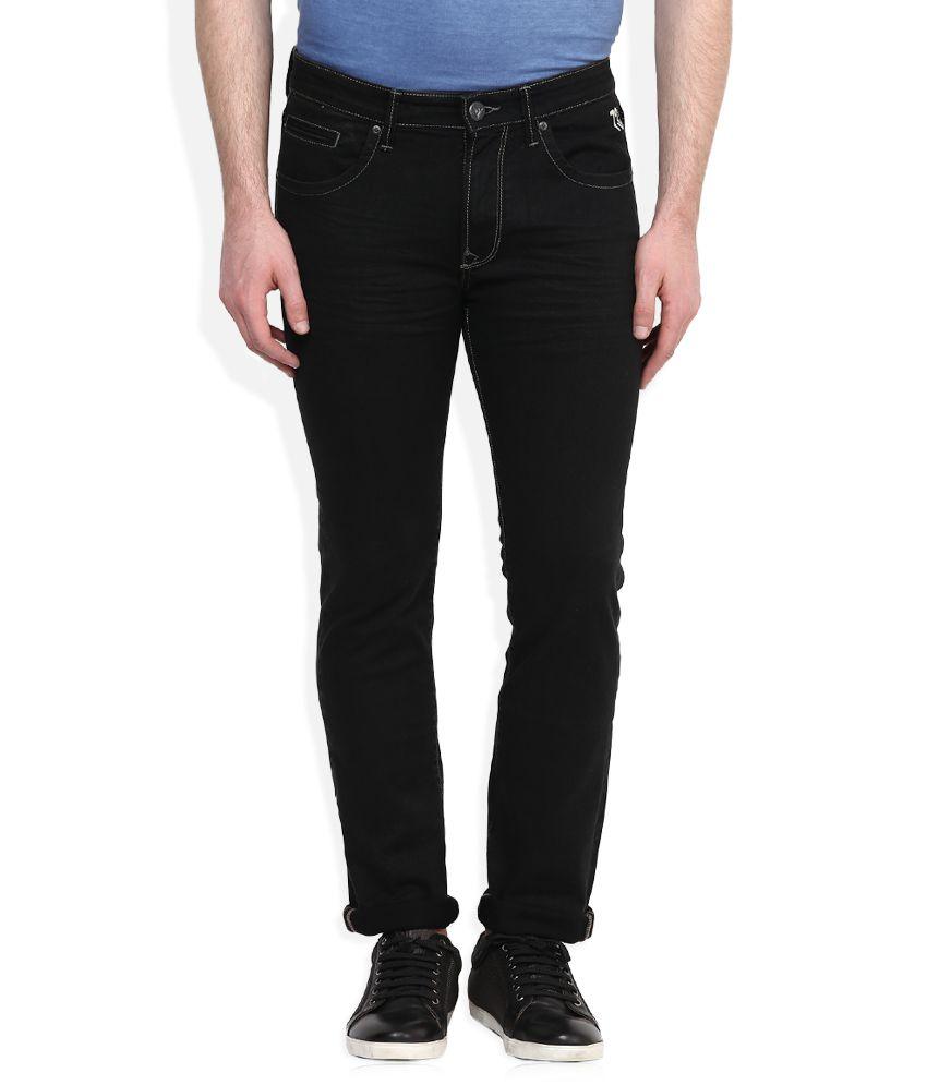 Pepe Jeans Black Regular Fit Jeans