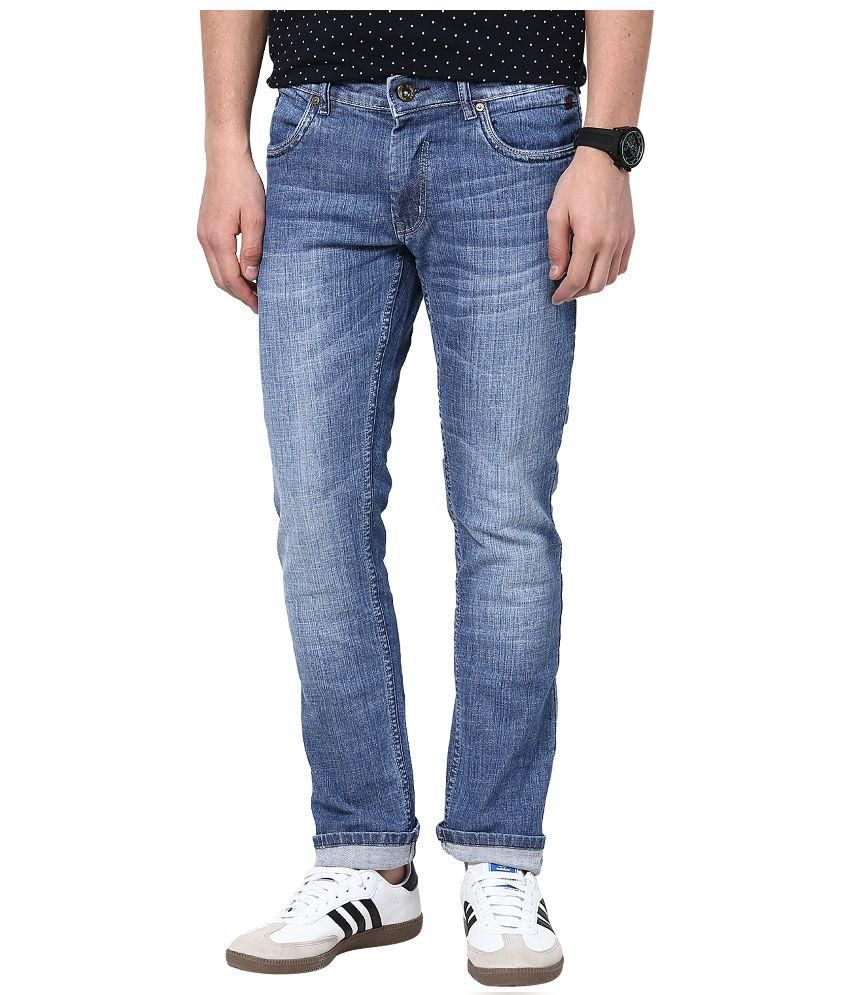 3 Concept Blue Slim Fit Jeans