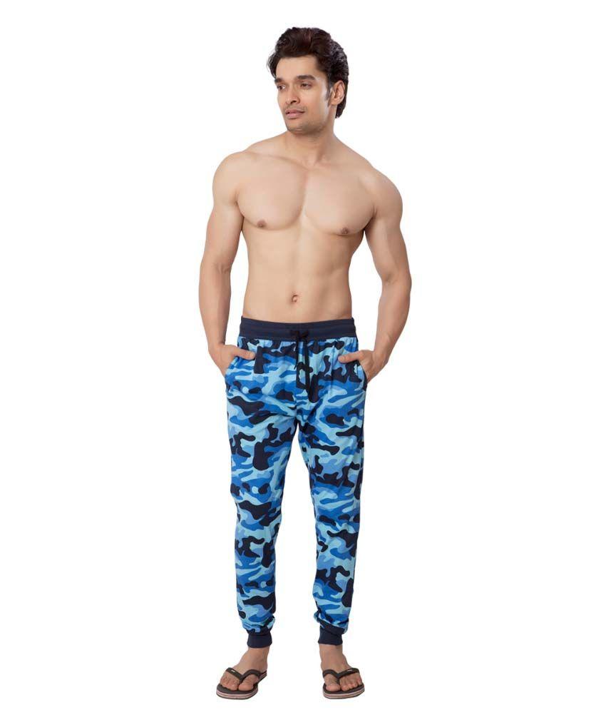 Clifton Fitness Men's Army Track Pant Slimfit -Walnut