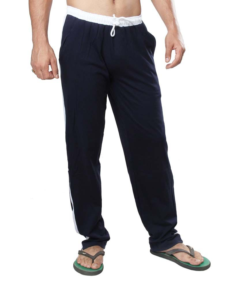 Clifton Fitness Men's Track Pants -Navy