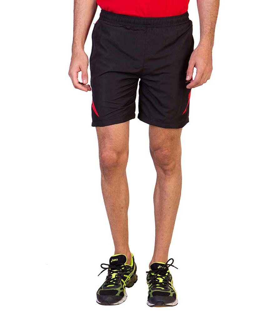 Greenwich United Polo Club Black Shorts