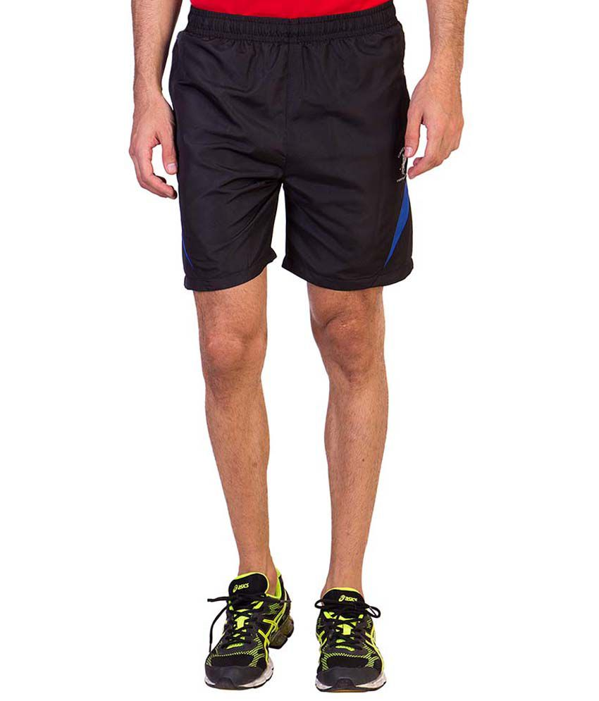 Greenwich United Polo Club Black Shorts