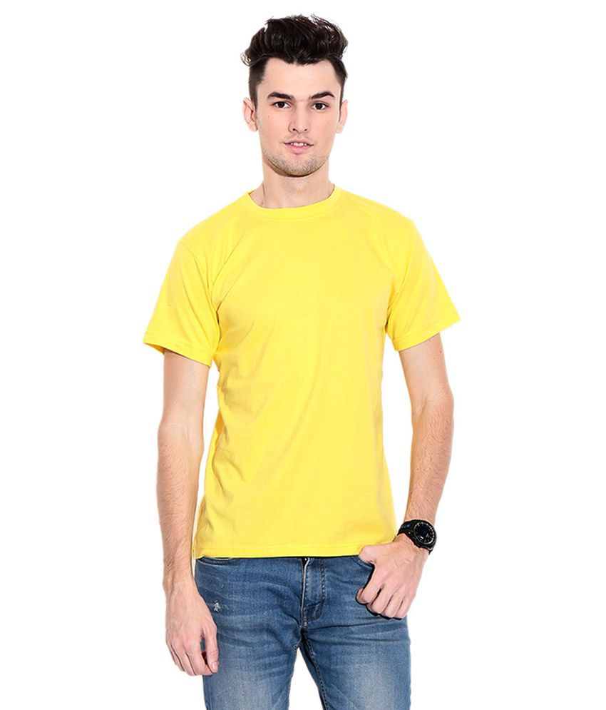 Stuntoons Yellow Round T Shirts Pack of 2