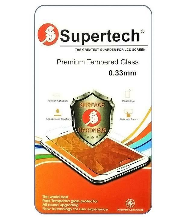 Motorola Moto G2 Tempered Glass Screen Guard by SUPERTECH