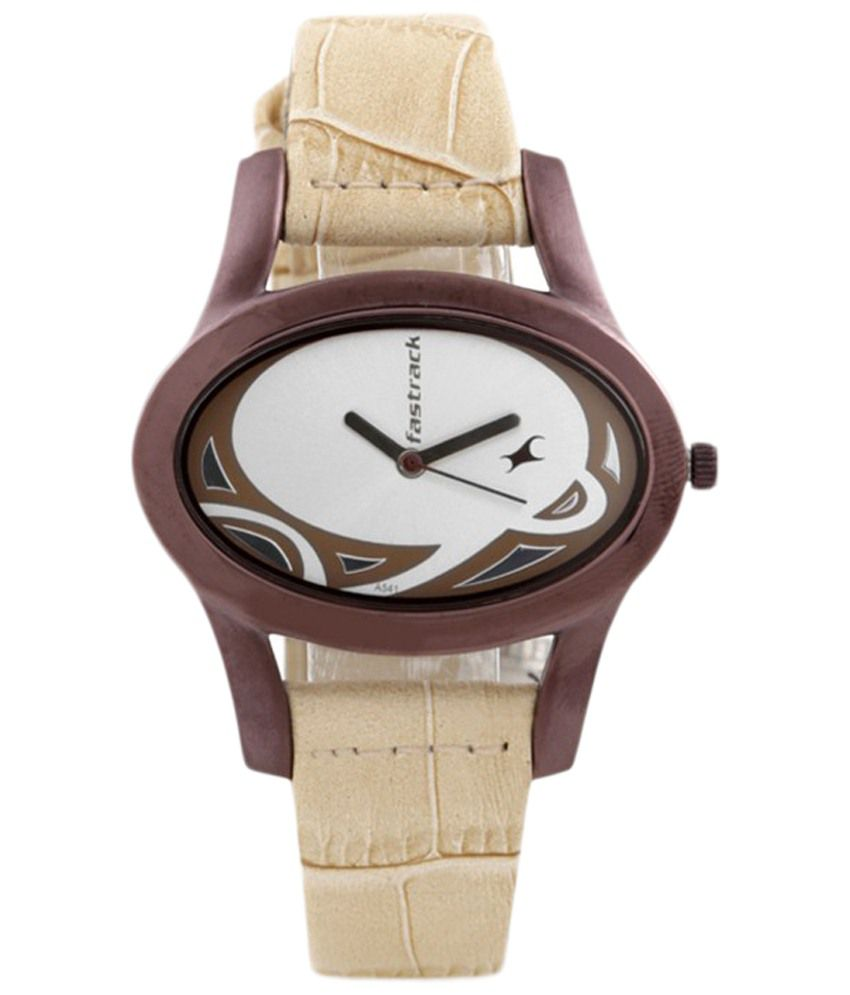 Fastrack white analogue watch price in india buy fastrack white analogue watch online at snapdeal for Watches for girls