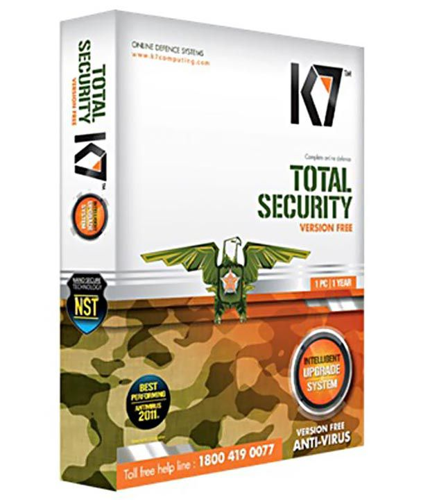K7 Total Security Antivirus Software- 3 Users (1 Year)