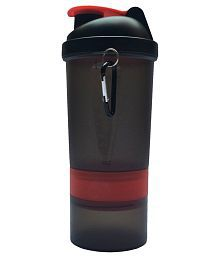 Udak Red & Black Loop Gym Shaker Sipper Bottle