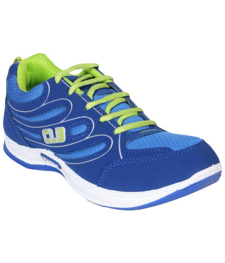 Columbus Blue Sports Shoes