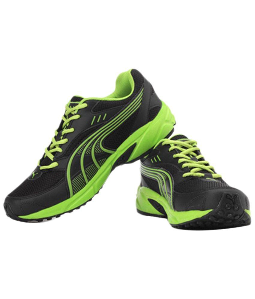 Puma Black Atom Fashion Sports Shoes Art P18762102F