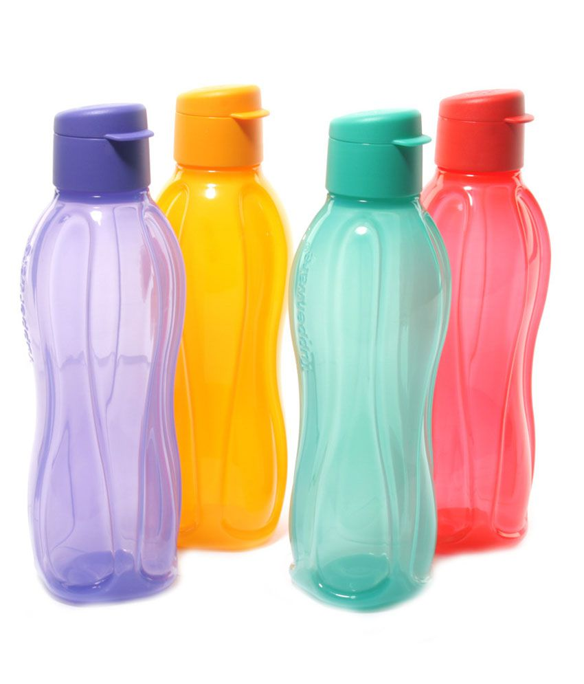 Water Bottle Set: Tupperware Water Bottle 750 Ml