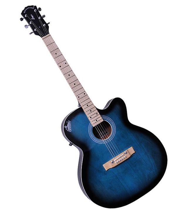 signature blue acoustic guitar buy signature blue acoustic guitar online at best prices in. Black Bedroom Furniture Sets. Home Design Ideas
