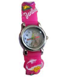 Barbie Watch Pale Pink Smd