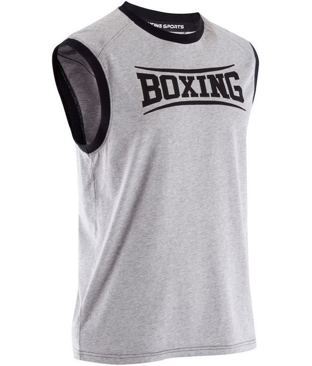 DOMYOS Boxe Adult Boxing Tank By Decathlon