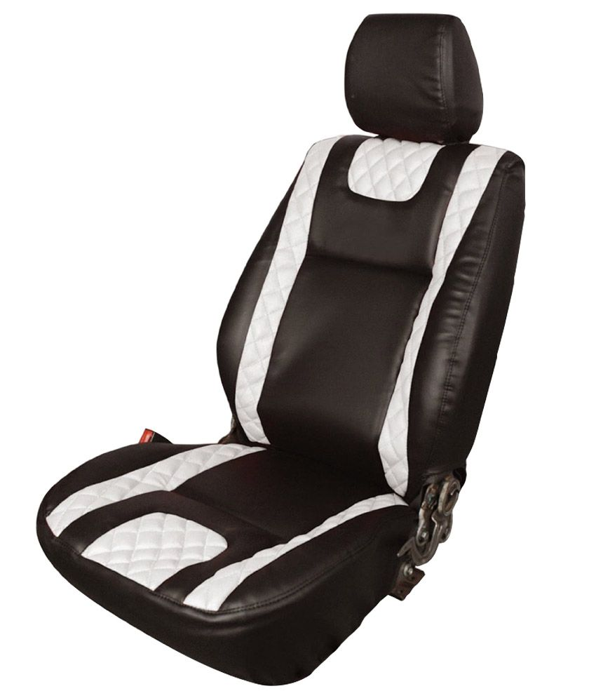 Elaxa Leatherite Car Seat Cover for Maruti Suzuki Celerio - Black (Set of 4): Buy Elaxa