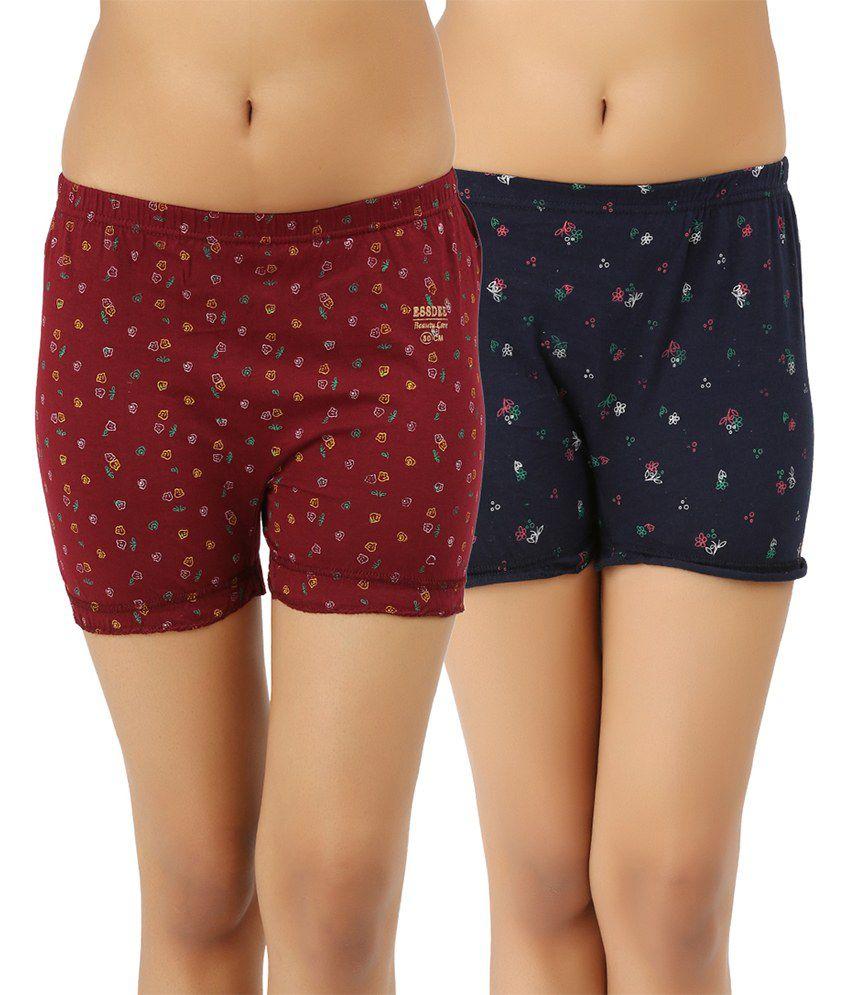 Essdee Blue Cotton Shorts