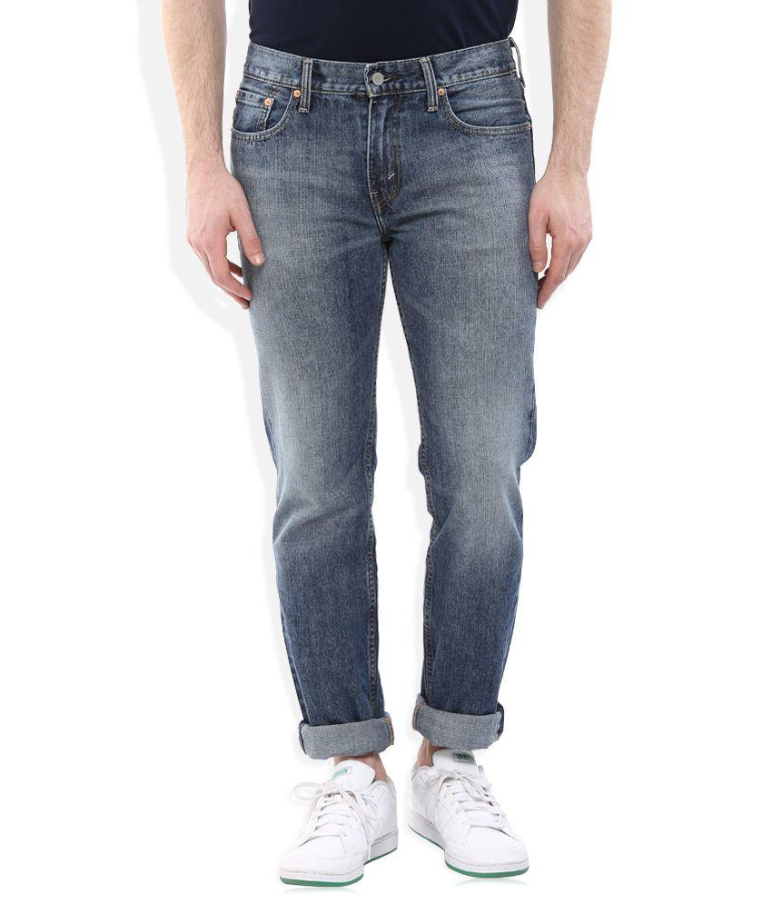 Levi's Blue Slim Fit Jeans Classic 5 Pkt