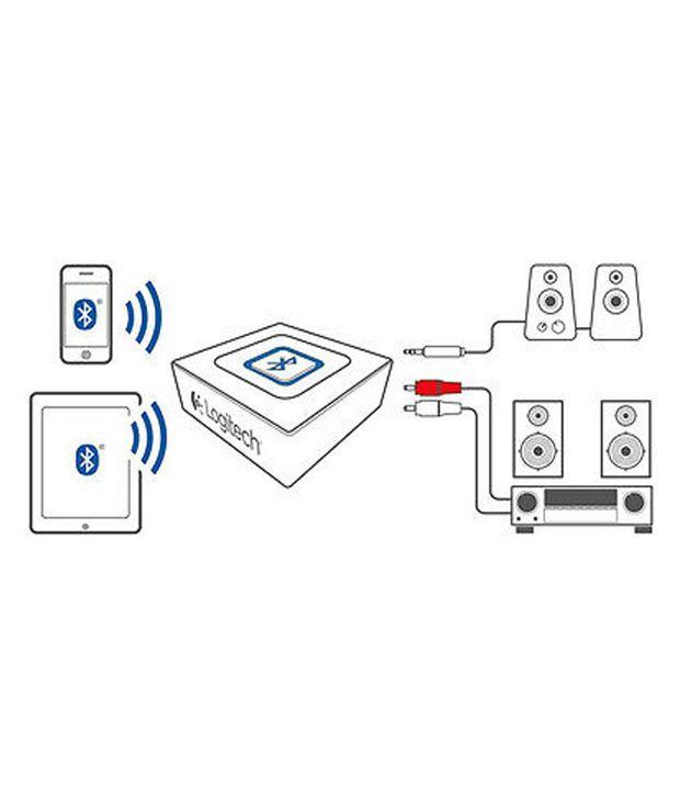 logitech bluetooth audio adapter - black