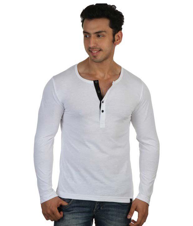 Rigo White Cotton T-Shirt