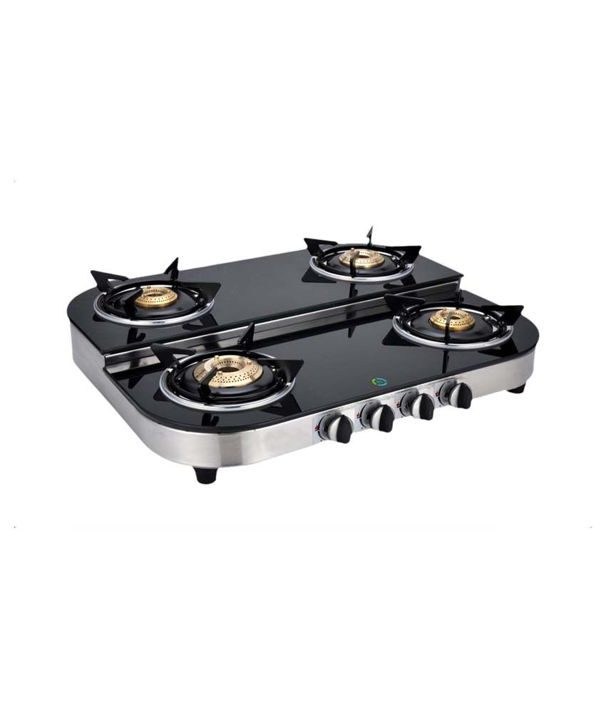 Surya Safe SS423 4 Burner Gas Cooktop