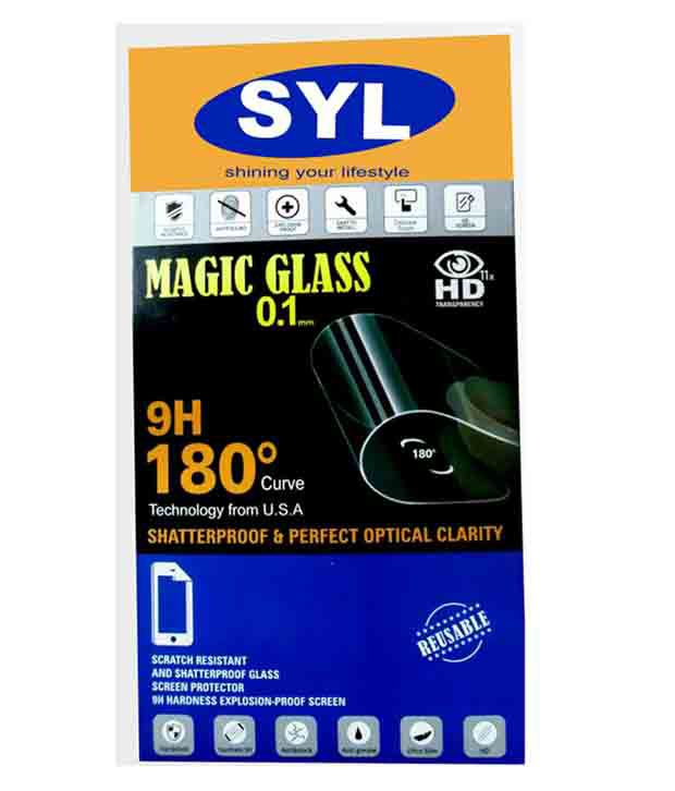 SONY XPERIA ZR Tempered Glass Screen Guard by SYL