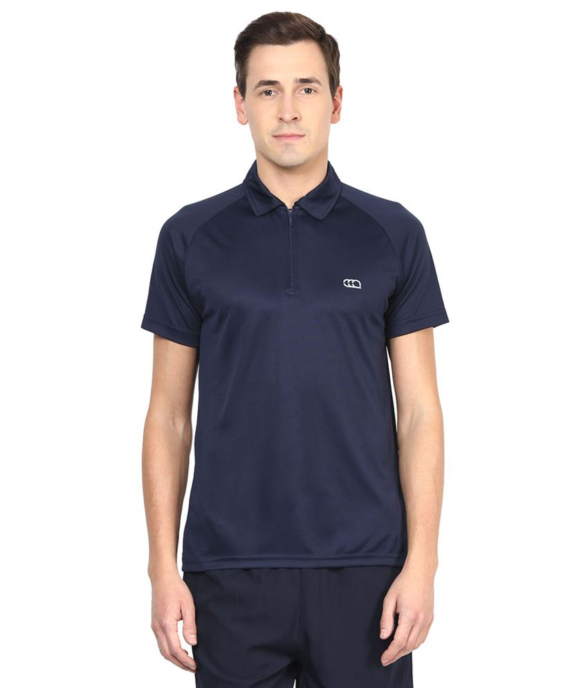 Ajile By Pantaloons Navy Polo T Shirt