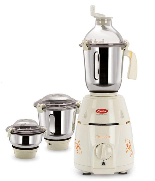 Bala Dazzler 1000W Mixer Grinder (3 Jars)