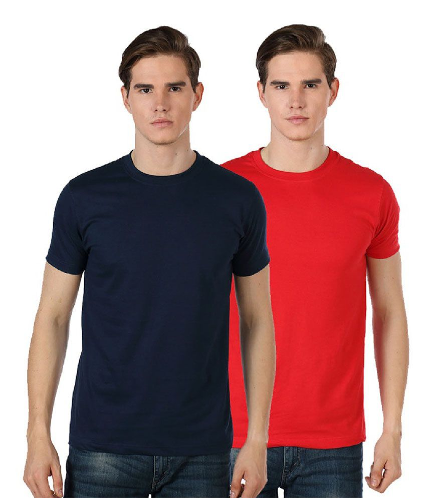 River Nation Navy Round T Shirts Pack of 2