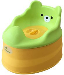 R for Rabbit Tiny Tots Potty Seat - Green Yellow