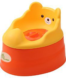 R for Rabbit Tiny Tots Potty Seat - Orange Red
