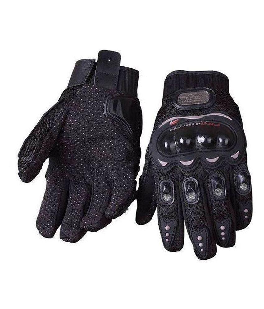 Probiker Hand Protective Gloves - Black Buy Probiker Hand Protective Gloves - Black -5804