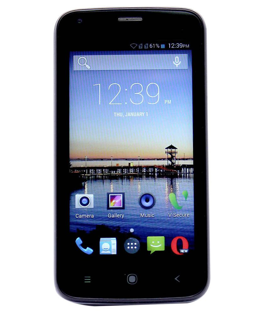 Videocon Z45 DAZZLE 8GB Black