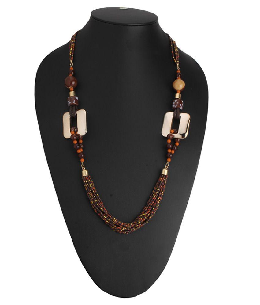 Alyssum Designs Multicolour Alloy Necklace