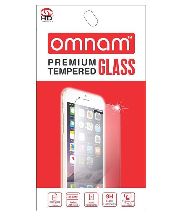 Micromax Q380 Tempered Glass Screen Guard by Omnam