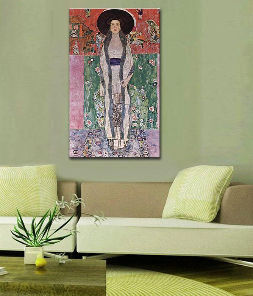 Tallenge Mrs, Adele Bloch Bauer By Gustav Klimt Gallery Wrap Canvas Art Print