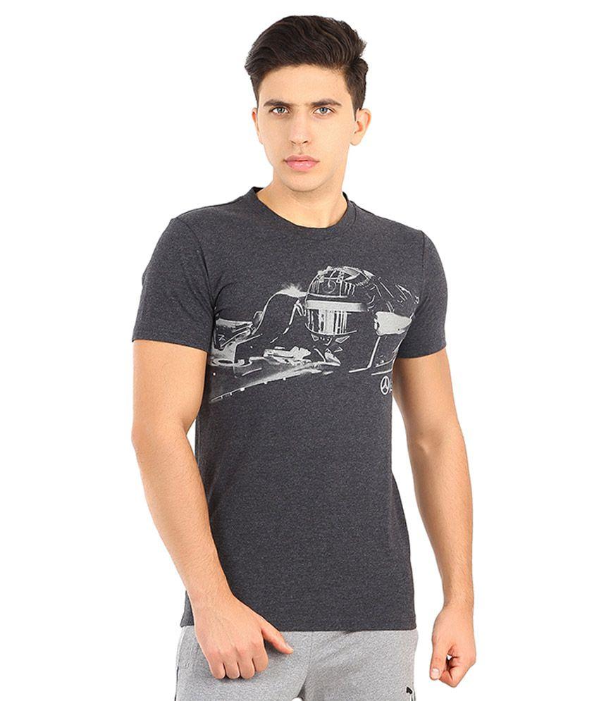 Puma Gray Mercedes AMG Petronas T Shirt