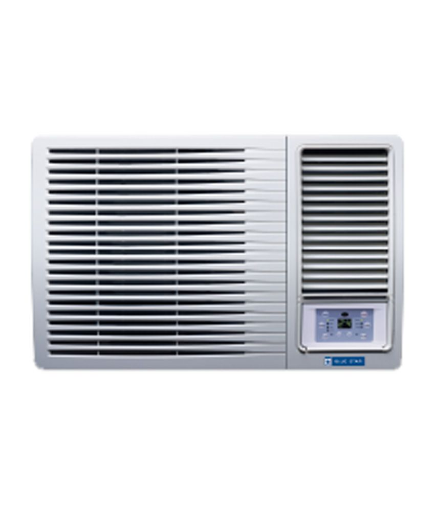 blue star 1 ton 3 star 3w12la window air conditioner white