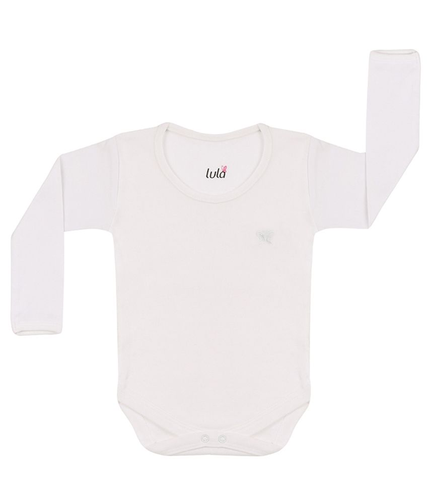 Lula White Cotton Body Suit