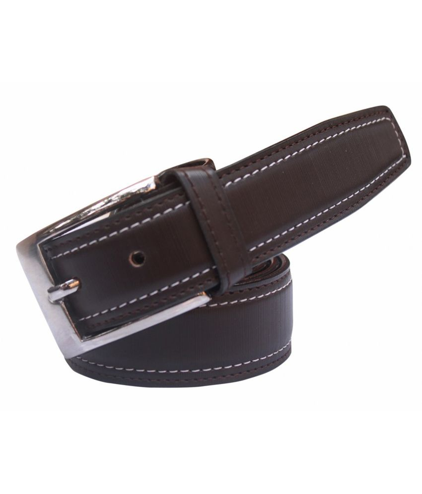 Winsome Deal Brown Formal Non Leather Belt for Men