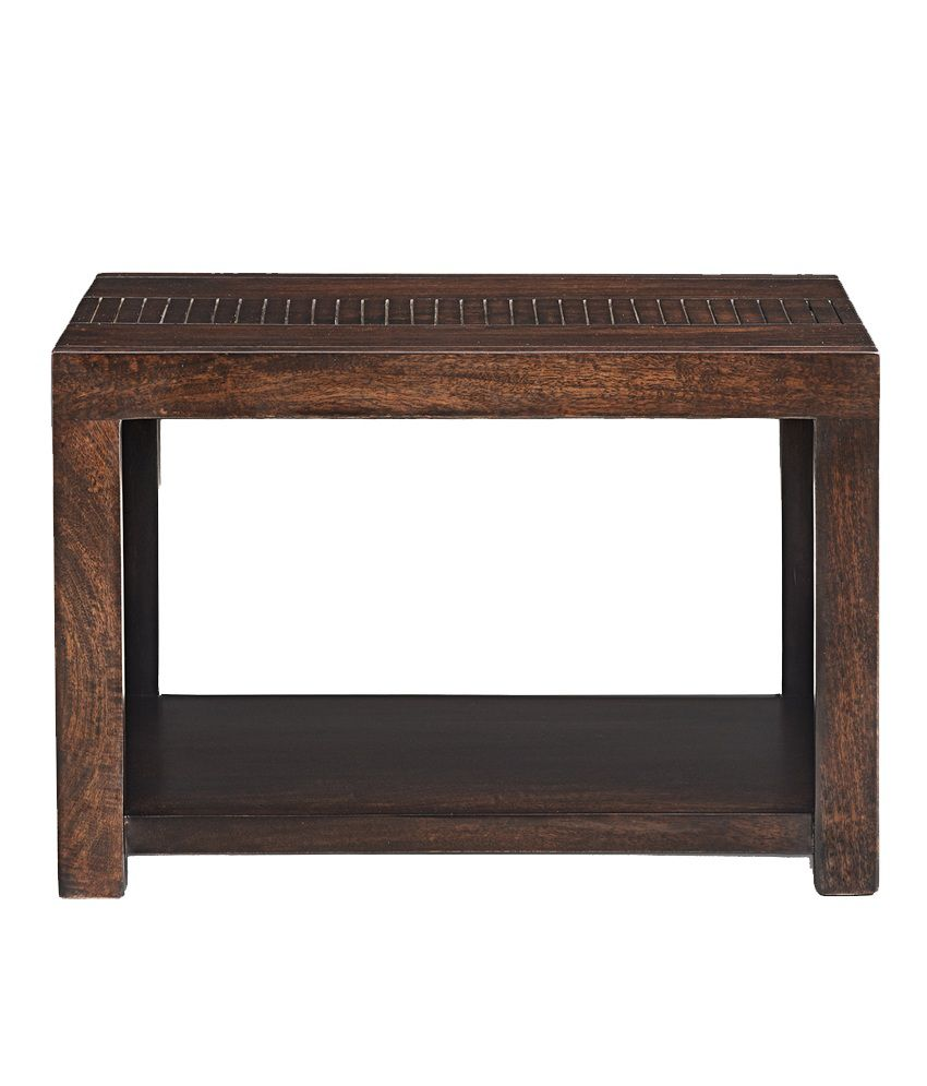 hausLIFE Stanford Bed Side Solid Wood Table