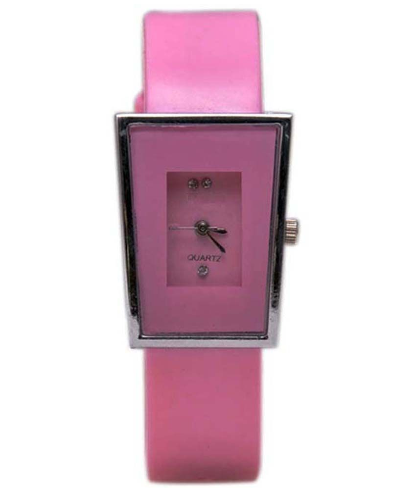 radharaman enterprise Radharaman Enterprise Pink Analog Watch For Women