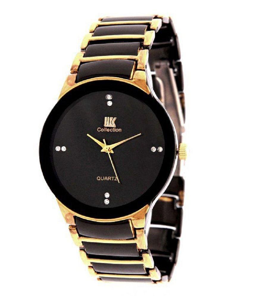 wowzilla black metal wrist watch for men buy wowzilla black wowzilla black metal wrist watch for men