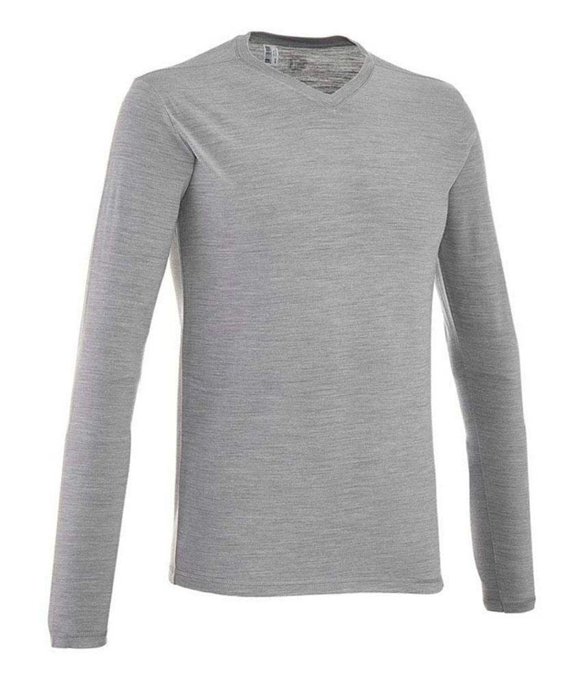 QUECHUA Techwool Men Long Sleeve T-Shirt