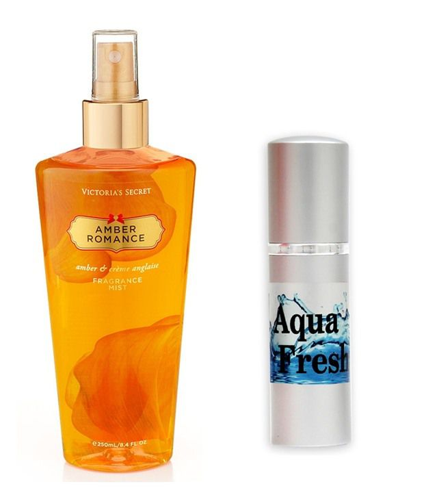 1d2efbaf40 Victoria s Secret Amber Romance Body Mist   Fragrance and Fashion Aqua  Fresh Combo  Buy Online at Best Prices in India - Snapdeal