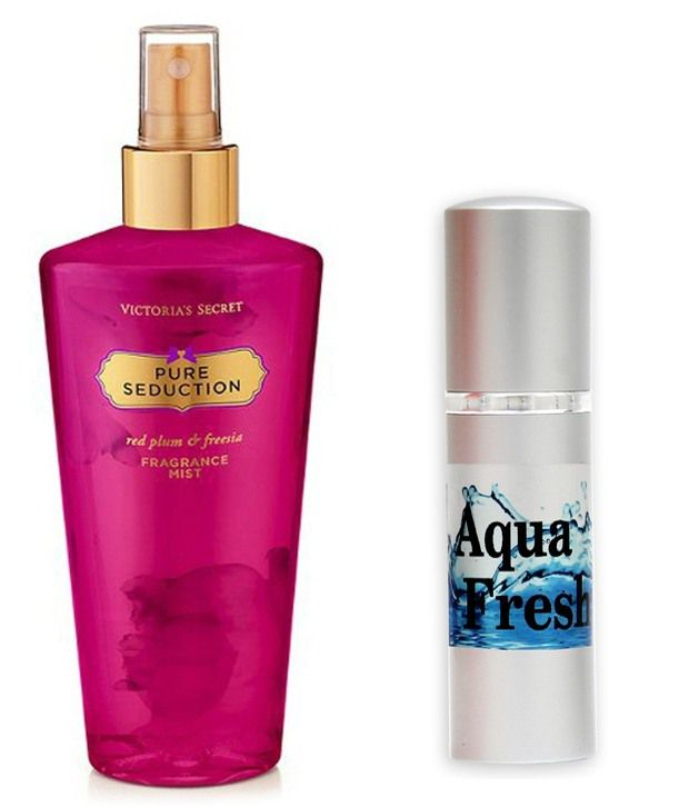 ade71acf31 Victoria s Secret Pure Seduction Body Mist   Fragrance and Fashion Aqua  Fresh Combo  Buy Online at Best Prices in India - Snapdeal