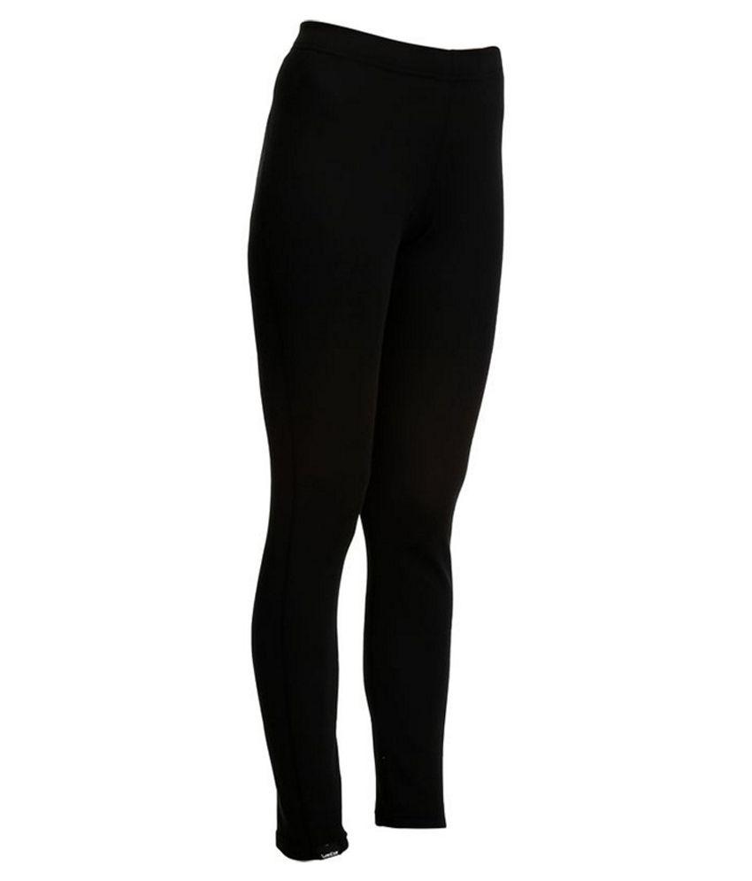 WEDZE Simple Warm Women Ski Base Layer Trousers